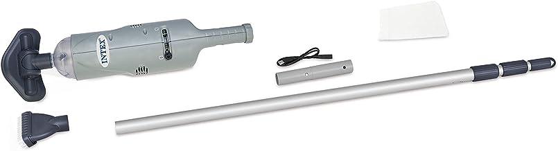 Intex 28620 - Aspiradora manual con eje de aluminio telescó