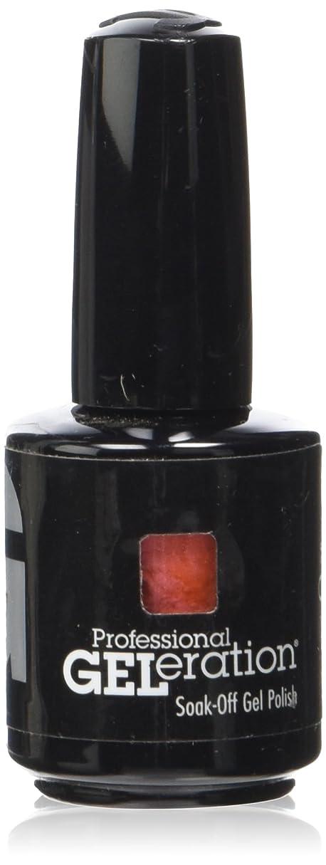 摂氏度暫定しゃがむジェレレーションカラー GELERATION COLOURS 977 コーラルリーフ 15ml UV/LED対応 ソークオフジェル