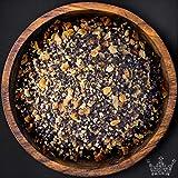 Zitronenpfeffer Gewürzmischung, geschrotet, zu Fisch- und Fleischgerichten, ohne künstliche Aromen, 100g - Bremer Gewürzhandel