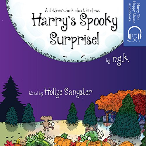 Harry's Spooky Surprise! audiobook cover art