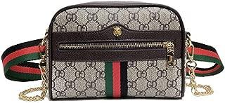 Waist Bag for Womens Fanny Packs Fashion Flap Crossbody Bags Quilted Belt Bag Ladies Waist Purse (Waist Bag for Black 1)