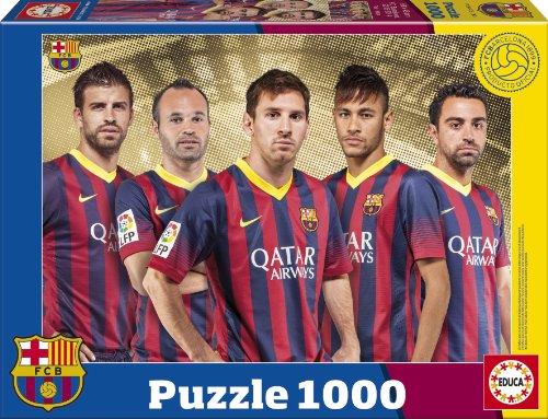 Puzzles Educa - FC Barcelona 2013/14, Puzzle de 1000 Piezas (15999)