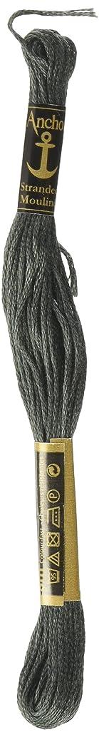 Anchor Six Strand Embroidery Floss 8.75 Yards-Stone Grey Very Dark 12 per box
