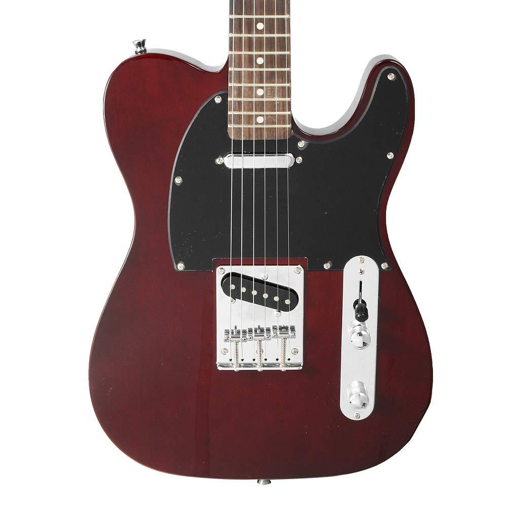 ERCZYO 24 trastes TL guitarra eléctrica Vintage ASH Cuerpo de arce ...