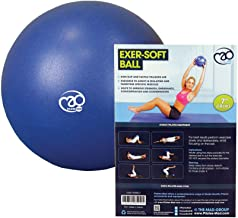 Fitness Mad Pelota, Pilates-Mad 7 Zoll Exer-Soft-Ball, Multicolor, 7 Inch