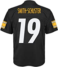 Outerstuff Juju Smith-Schuster Pittsburgh Steelers NFL Youth 8-20 Black Home Mid-Tier Jersey
