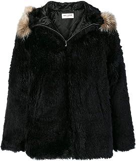 SAINT LAURENT Luxury Fashion Mens 531195Y715T1000 Black Outerwear Jacket | Season Outlet
