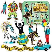 Archie McPhee 超素晴らしい誕生日ミニデコレーション。