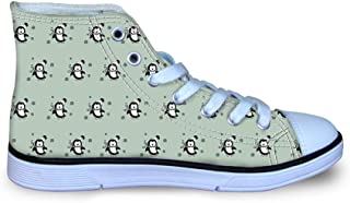 Canvas High Top Sneaker Casual Skate Shoe Boys Girls Winter is Coming Mighty Bison Force