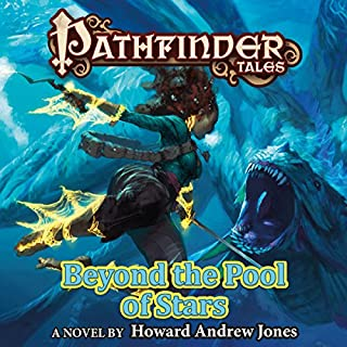 Pathfinder Tales: Beyond the Pool of Stars audiobook cover art