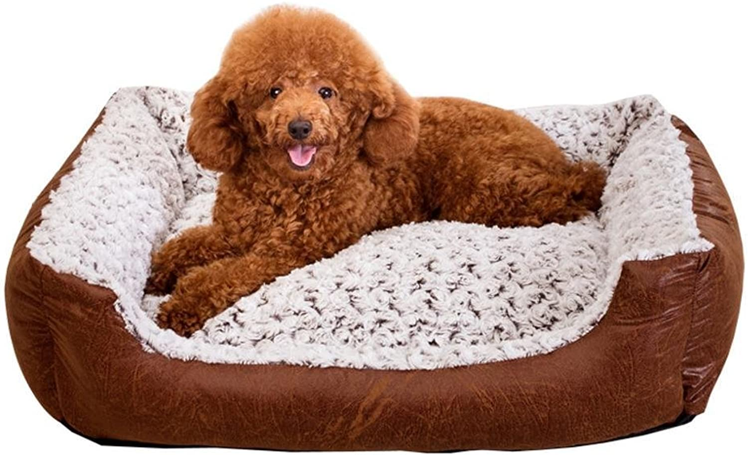 Dixinla Pet Bed Cotton Removable and Washable pet Litter Kennel
