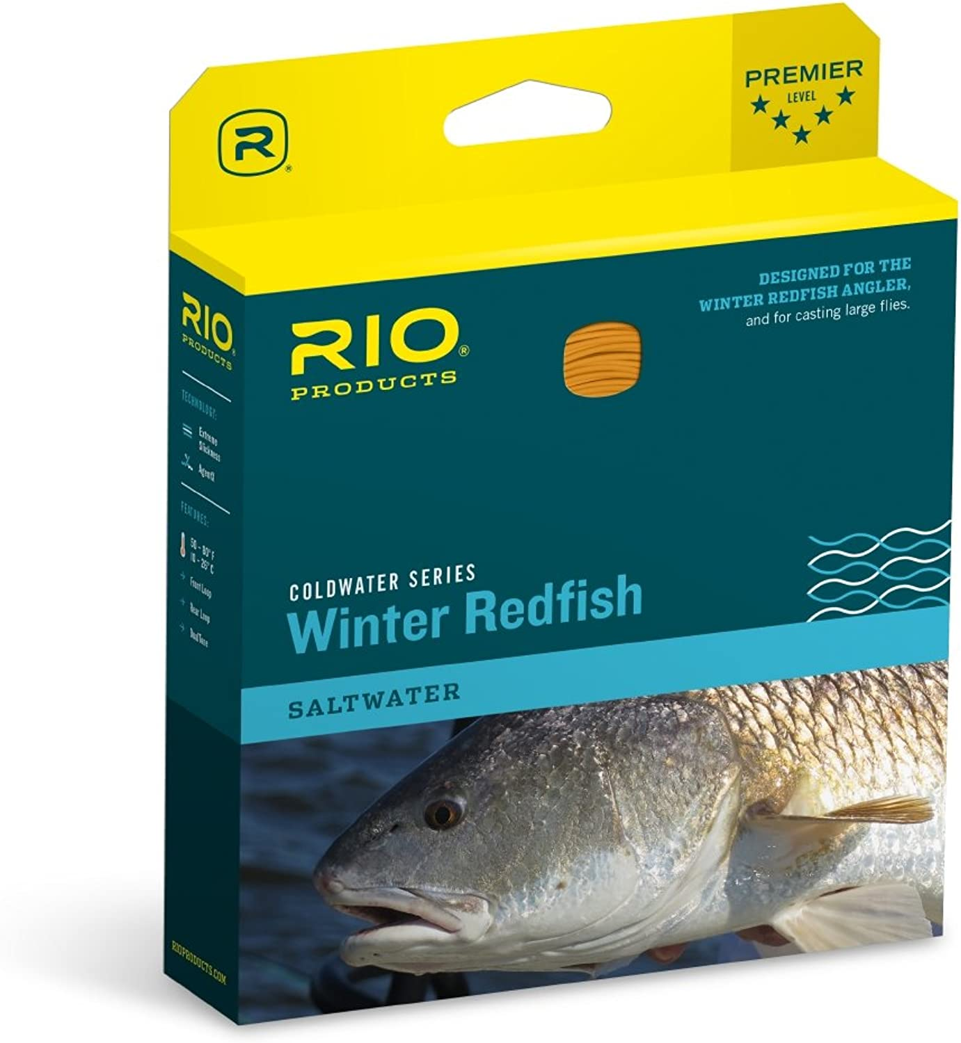 RIO Brands Winter Redfish Wf9F 621017, orange, WF9F