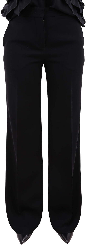 MAX MARA Women's 61360289000NEGELIA001327 Black Acetate Pants