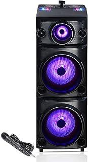 Blaupunkt PS600 Double Deejay Panel Party Speaker (Black)