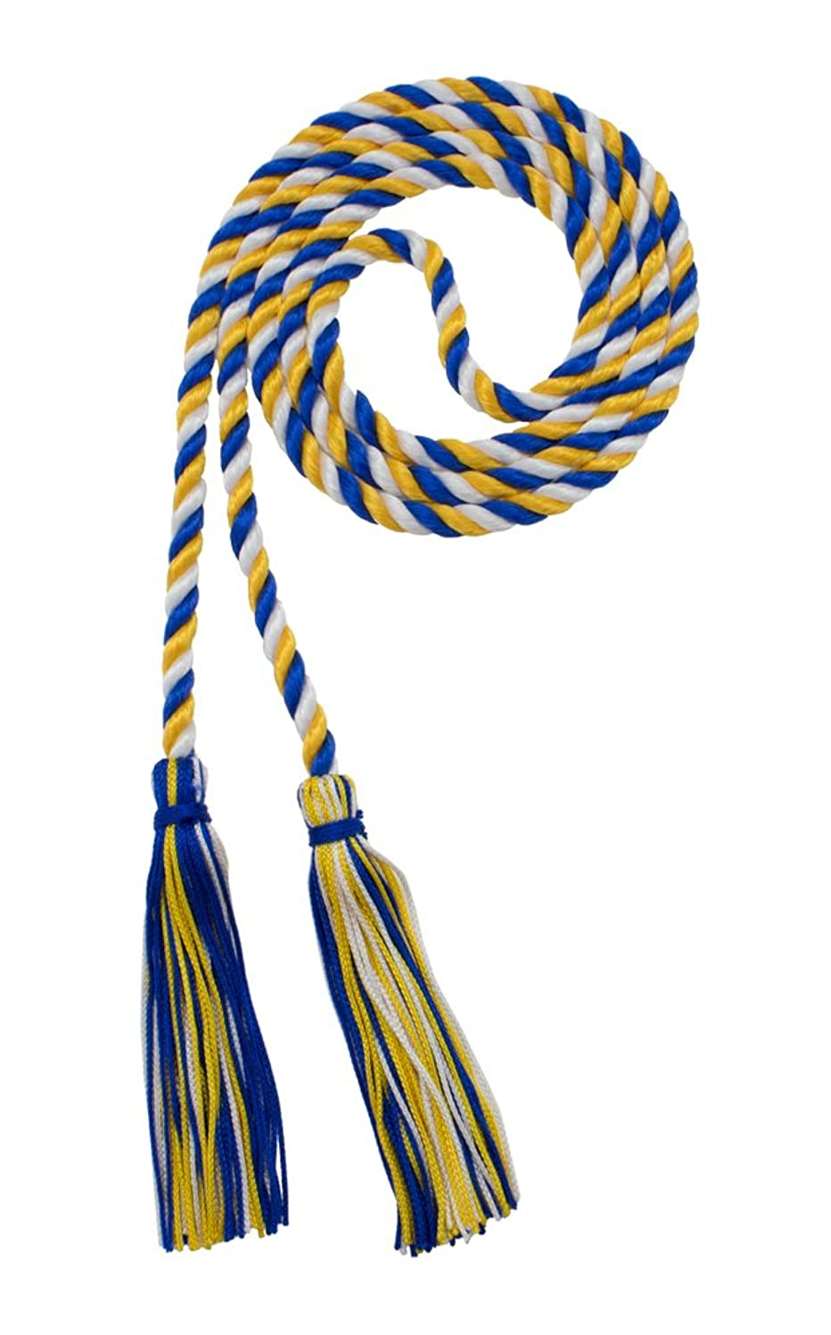 Tassel Depot HONOR CORD ROYAL/GOLD / WHITE BRAND - MADE IN USA