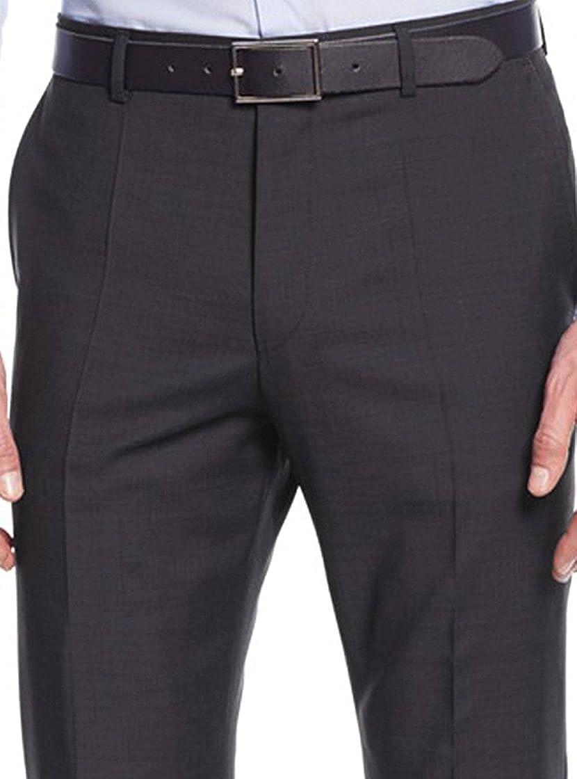 Nicoletti Men's Two Button 2 Piece Modern Fit Suit Working Buttonholes Jacket
