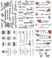 [KING HORSE (キングホース)] タトゥーシール 英文字 [通常サイズ・6種6枚] hm6040