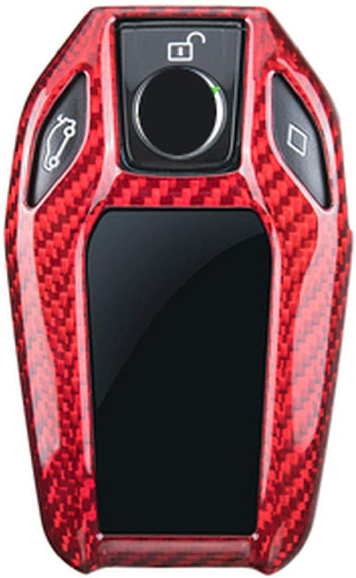 Glass Carbon Fiber Car Key Case Shell Cover OFFicial store store BMW 7 ,for Ser