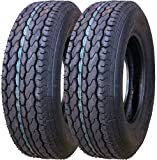 2 New Free Country Trailer Tires ST 205/75D15 Deep Tread- 11021