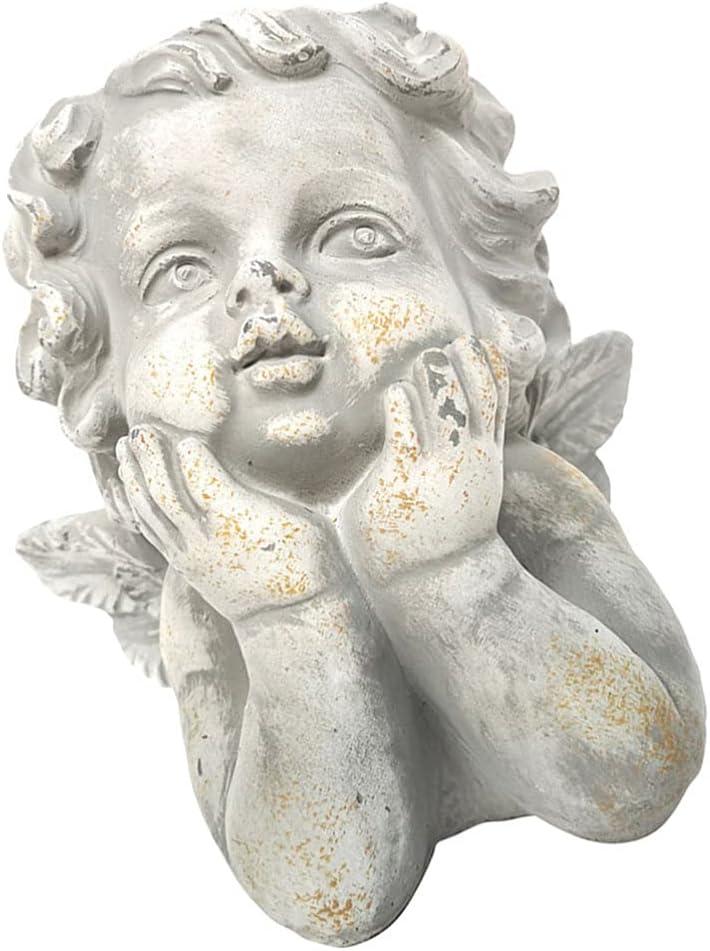 Cabilock Cute Angel Succulent Virginia Discount is also underway Beach Mall Planter Plante Pot Face Head