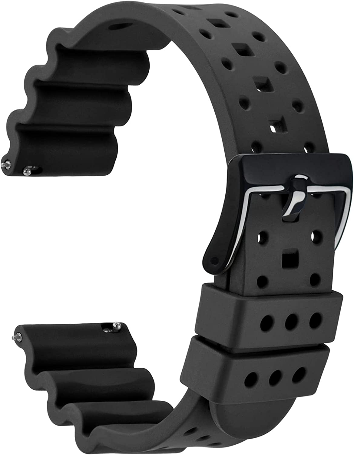 WOCCI Ventilated Fluororubber FKM Watch with Breathable Discount is also underway Bands Ranking TOP13