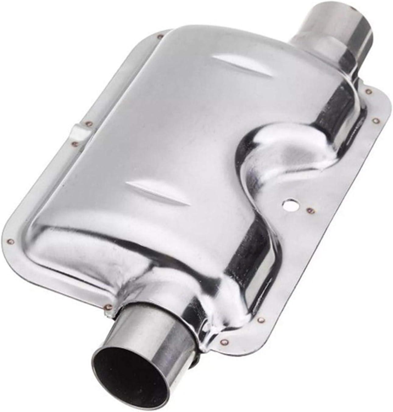 Yoouo 120cm Standheizung Edelstahl Auspuff Schalld/ämpfer,Mit Rohr Schalld/ämpfer,Auto-Luft-Heizung Tank Diesel Gas Entl/üftungsschlauch F/ür Luft Diesel Auto Heater