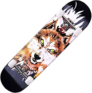 Skateboards, Beginner Skateboard, Kids Skateboard(war Wolf)