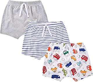 Beide Baby Boys Cotton Shorts 3 Pack