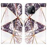 VQWQ Etui Coque pour Xiaomi Mi 11 - Wallet Case pour Xiaomi Mi 11 Cuir Housse Portefeuille Cuir...
