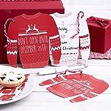 Ginger Ray- Cosy Christmas Etiquetas de