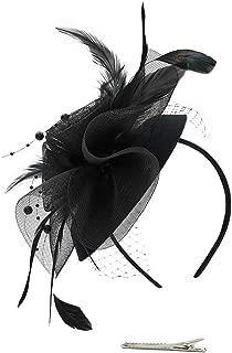 Fascinator Hats for Women Headband Wedding Tea Party Hair Clip