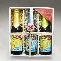 【即日発送】ベルギービール モンゴゾ 3種3本 T(バナナ・マンゴー・ココナッツ)セット[飲み比べセット] (母の日ギフト)