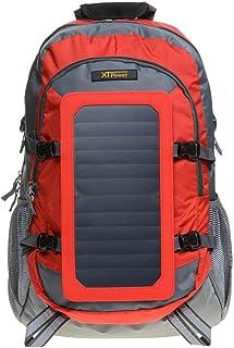 XTPower® SP507BL 6,5 W Mochila Solar en Gris Rojo - Bolsa