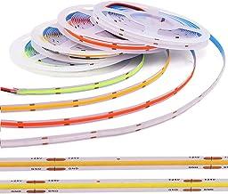 XUNATA Flexibele COB LED-strip 12V, 5m Lichtlint met Zelfklevende Tape, IP33 Voor Binnen, Huis, Keuken, Slaapkamer, Kast, ...
