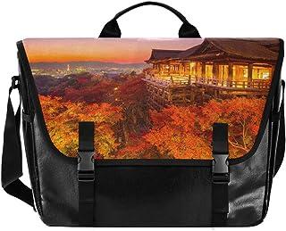 Hermosa iluminación nocturna escena hombres y mujeres lona bolsa señoras retro bolsa de hombro bolsa de la escuela, ideal ...