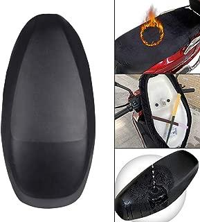 Funda de asiento de motocicleta, protector de UV resistente al desgaste utilizable de doble cara Funda de cojín de asiento Scooter de motocicleta Fundas de asiento ATV para la mayoría de los asientos