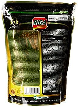 Riga (petfood) Menu Premium Grandes Perruches Vitamines et Fruits Doypack de 800 g