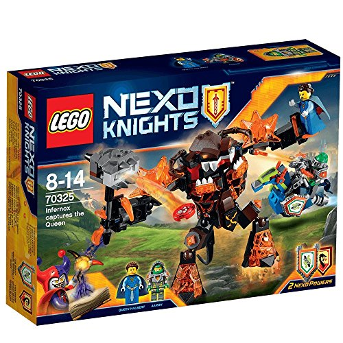 Lego Nexo Knights 70325 Infernox Captures the Queen Building Set by LEGO
