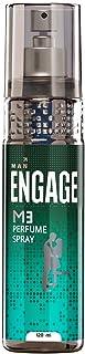 Engage M3 Perfume Spray For Men, Fresh and Minty, Skin Friendly, 120ml