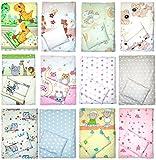 4 teiliges Kinderwagenset Decke Kissen Bezüge D13