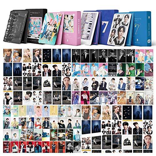 BTS LOMO 216PCS-324pcs BTS Map of the Soul AUF Carte dynamitée Nouveau Album Bantan Garçon Cartes postales BTS Map 7 Cartes de Voyage Dynamite Cartes Photo (216pcs)