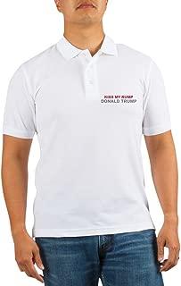 Kiss My Rump Donald Trump - Golf Shirt, Pique Knit Golf Polo