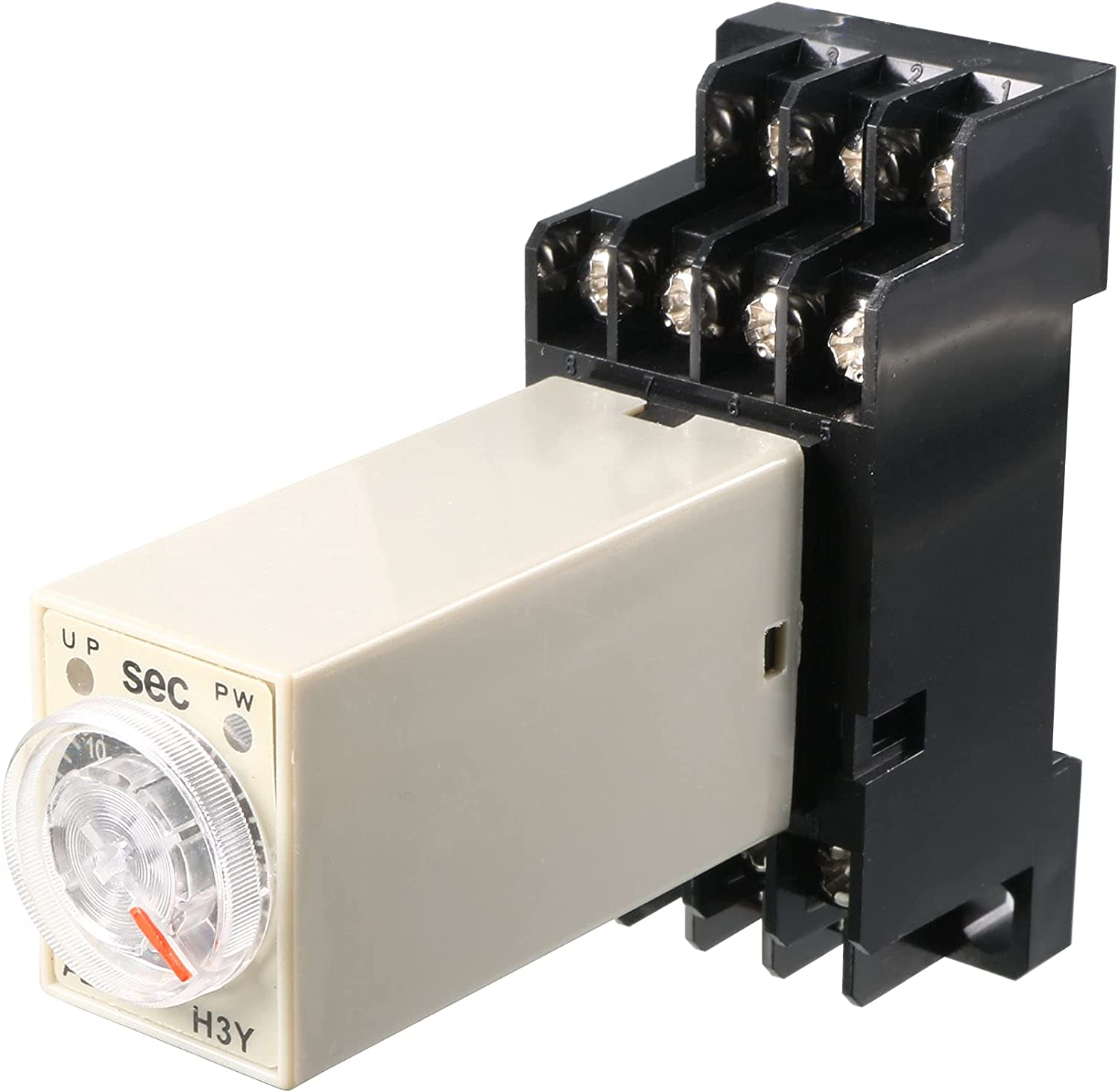 uxcell DC 24V Max 44% OFF H3Y-4 0-30S 4PDT 14 Power Pins safety Delay on Time Relay
