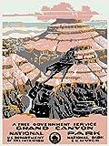 Nationalpark Poster Grand Canyon Nationalpark Arizona 1937