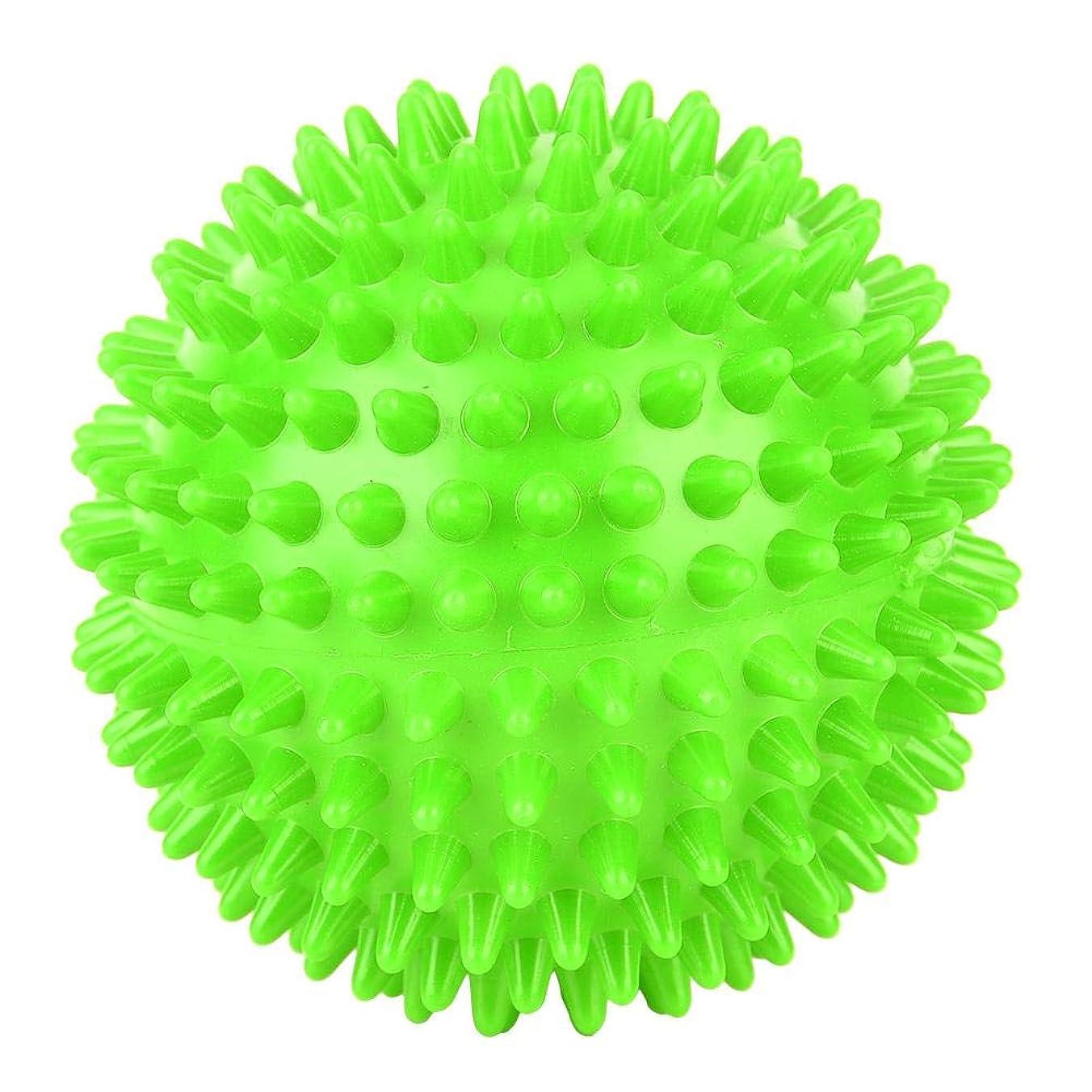 酸うまれた頑丈フットバックトリガーポイントセラピー、筋筋膜のリリース、および筋肉の回復のためのとがったマッサージボールローラーマッサージャーボール。