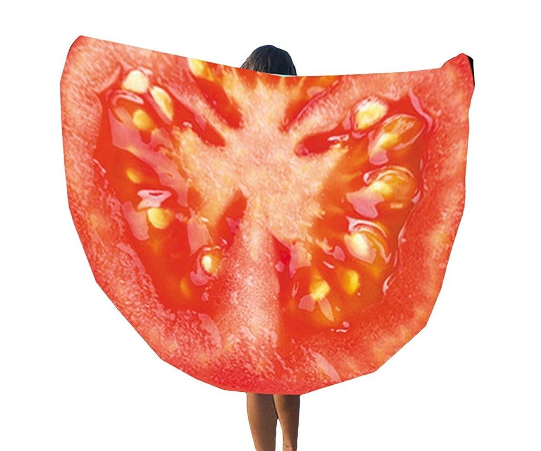 出撃者ラブ先見の明(ウォ2U)Woo2u 可愛い 果物柄 マフラー ボヘミアン 大判 ヨガ ブランケット ビーチ タオル 多用途 海水浴 スカーフ ビーチ マット ピクニック インテリア ラグマット