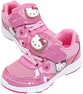 Character Light Up Sneakers Shoes for Girls Elsa Sofia Hello Kitty (Parallel Import/Generic Product)