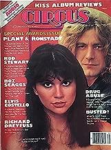 Circus Magazine (Linda Ronstadt & Robert Plant , KISS , Rod Stewart , Boz Scaggs , Elvis Costello , Richard Dreyfuss, February 16, 1978)