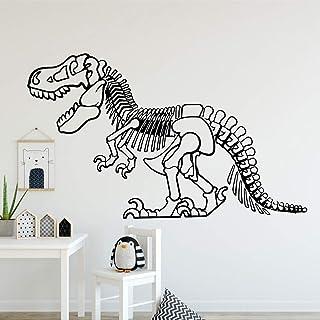 wZUN Romántico Dinosaurio Pegatinas de Pared Personalidad Creativa Sala de Estar Dormitorio Tatuajes de Pared a Prueba de ...
