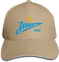 UEFA Zenit St Petersburg Adjustable Hat, One Size Fits All Black